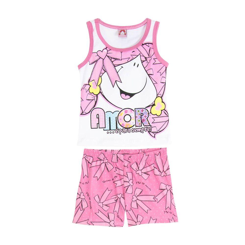 Short-Doll-Infantil-Turma-da-Mel-Laco