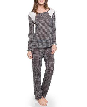 Pijama-Feminino-Joge-Longo-Malha-Folk-Listrado