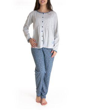 Pijama-Gestante-Lua-Cheia-Longo-Aberto-Floral