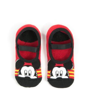 Meia-Infantil-Unissex-Puket-Sapatilha-Mickey