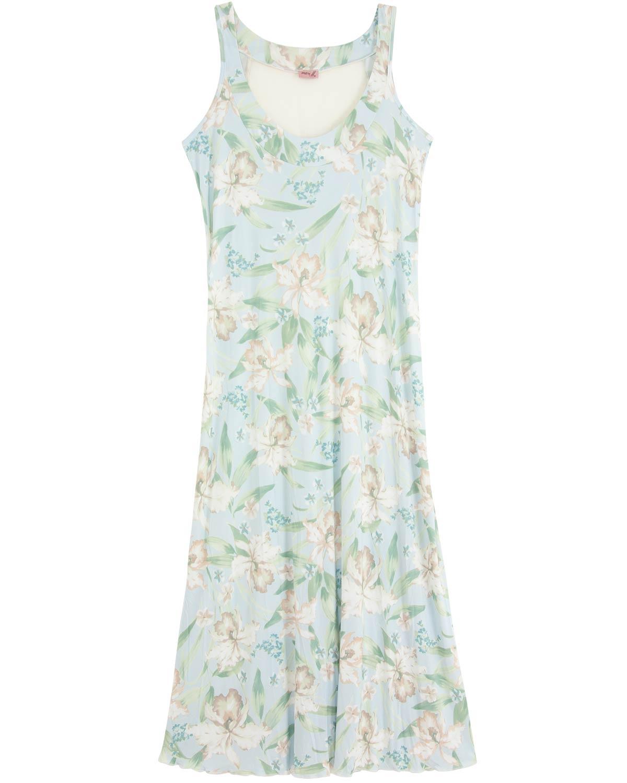 0f3aceac10e26b Camisola Plus Size Mari M Longa Microfibra | Compre na Pijama Online ...