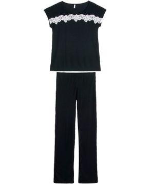 Pijama-Feminino-Joge-Longo-Canelado-com-Renda