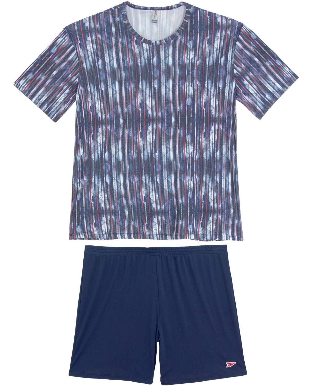 f6caf4e0bfe88e Pijama Masculino Recco Curto Microfibra | Pijama Online - Pijama Online