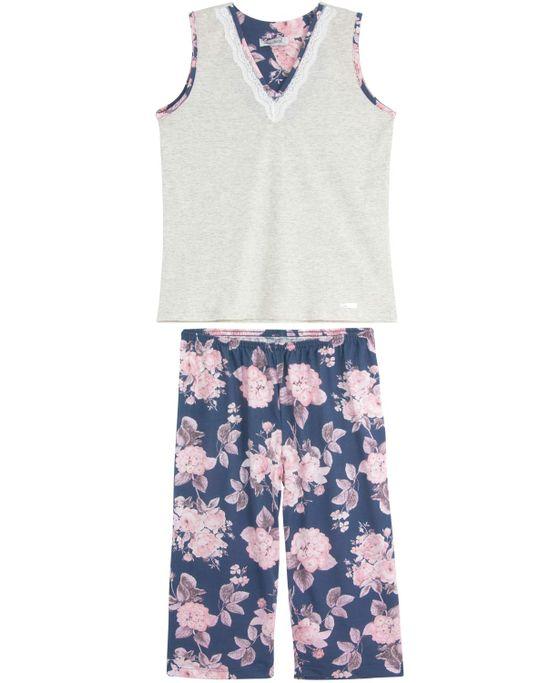 Pijama-Feminino-Lua-Cheia-Pescador-Regata-Floral
