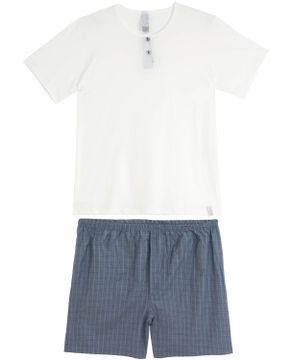 Pijama-Masculino-Compose-Bermuda-Botoes