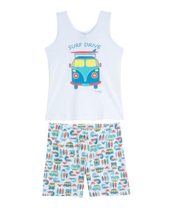 Pijama-Infantil-Masculino-Compose-Regata-Kombi