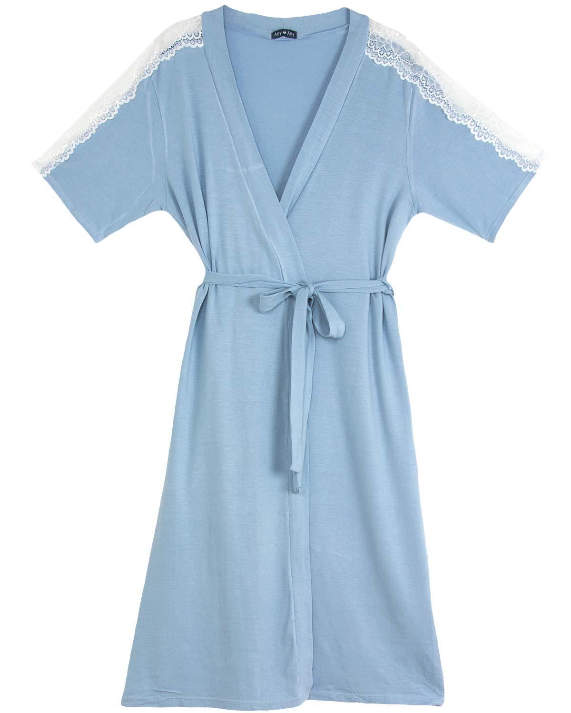 1d173f06c Robe Any Any Viscolycra Renda - Azul