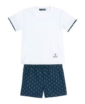 Pijama-Infantil-Masculino-Lua-Cheia-Short-Ancora