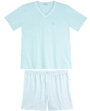 Pijama-Plus-Size-Masculino-Lua-Cheia-Short-Listras