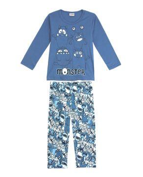 Pijama-Infantil-Masculino-Lua-Encantada-Monstros