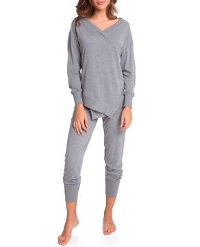 Pijama-Feminino-Joge-Longo-Decote-Transpassado