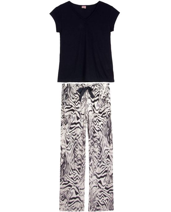 Pijama-Feminino-Lua-Encantada-Longo-Viscolycra