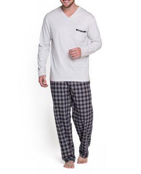 Pijama-Masculino-Podiun-Calca-Flanelada-Xadrez
