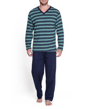 Pijama-Masculino-Podiun-Longo-Listras