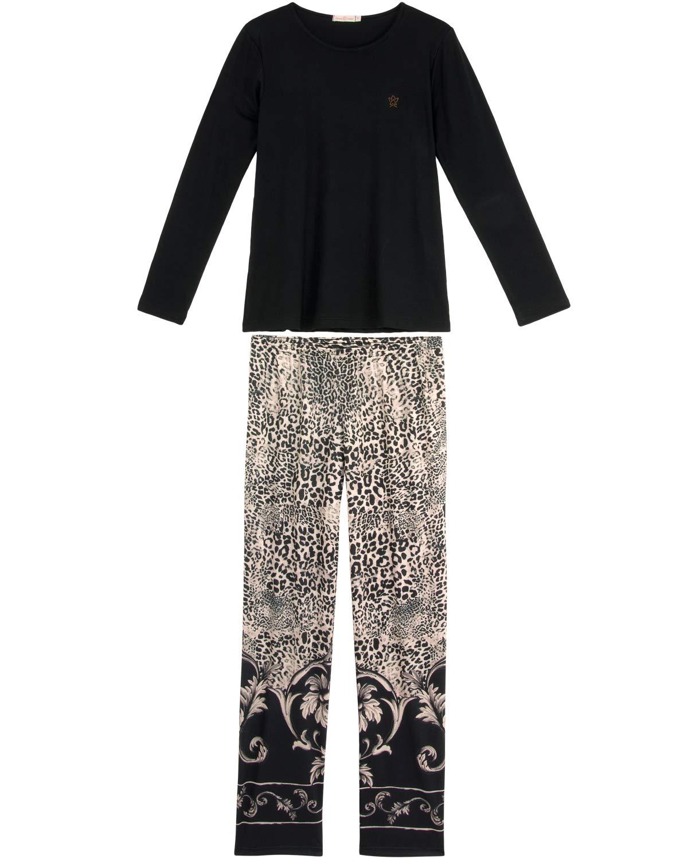 7f5fb912671cd7 Pijama Feminino Daniela Tombini Longo Viscolycra | Pijama Online ...