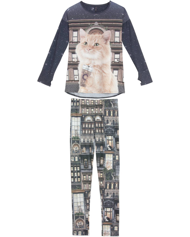 21462e8cd4f8cc Pijama Feminino Lua Luá Legging Blume   Pijama Online - Pijama Online