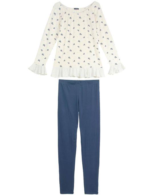 Pijama-Feminino-Any-Any-Longo-Viscolycra-Classico