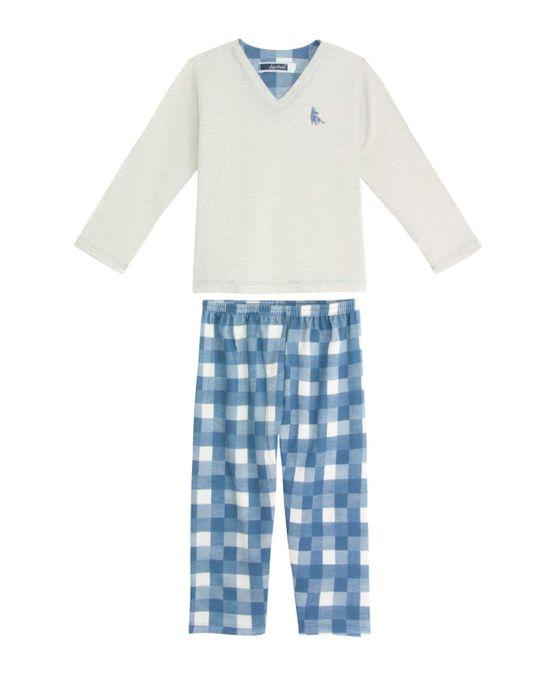 Pijama-Infantil-Masculino-Lua-Cheia-Calca-Aflanelada