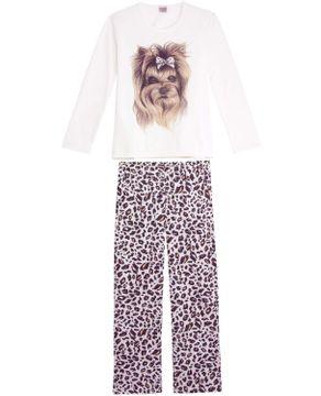 Pijama-Feminino-Lua-Encantada-Moletinho-Yorkshire