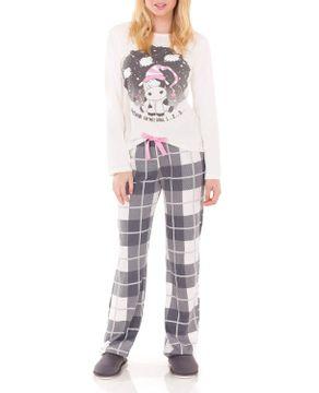 Pijama-Feminino-Lua-Encantada-Moletinho-Vaquinha