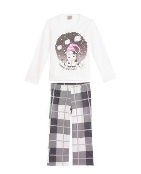 Pijama-Infantil-Feminino-Lua-Encantada-Moletinho-Vaca