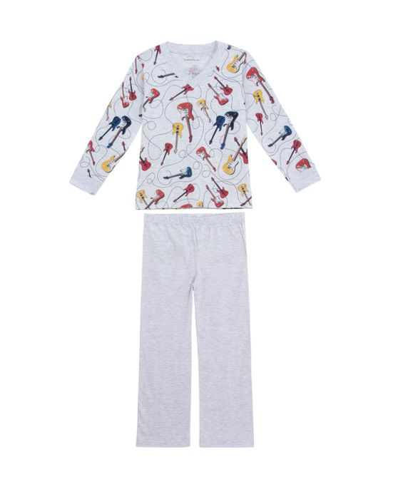 Pijama-Infantil-Masculino-Dedeka-Longo-Guitarra