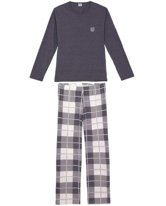 Pijama-Masculino-Lua-Encantada-Calca-Xadrez