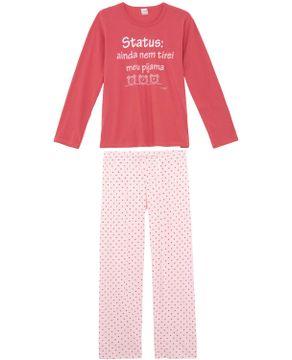 Pijama-Feminino-Compose-Longo-Algodao-Frase