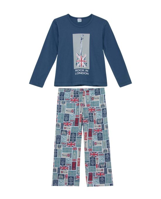 Pijama-Infantil-Masculino-Compose-Algodao-Guitarra