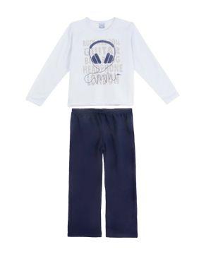 Pijama-Infantil-Masculino-Compose-Moletinho-Fone