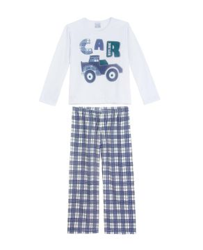Pijama-Infantil-Masculino-Compose-Moletinho-Carro