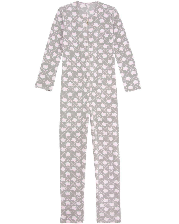 78c099e55e30c7 Macacão Adulto Recco Soft Raposa | Pijama Online - Pijama Online
