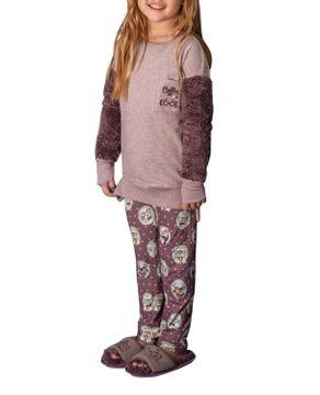 Pijama-Infantil-Feminino-Lua-Lua-Peluciado-Legging