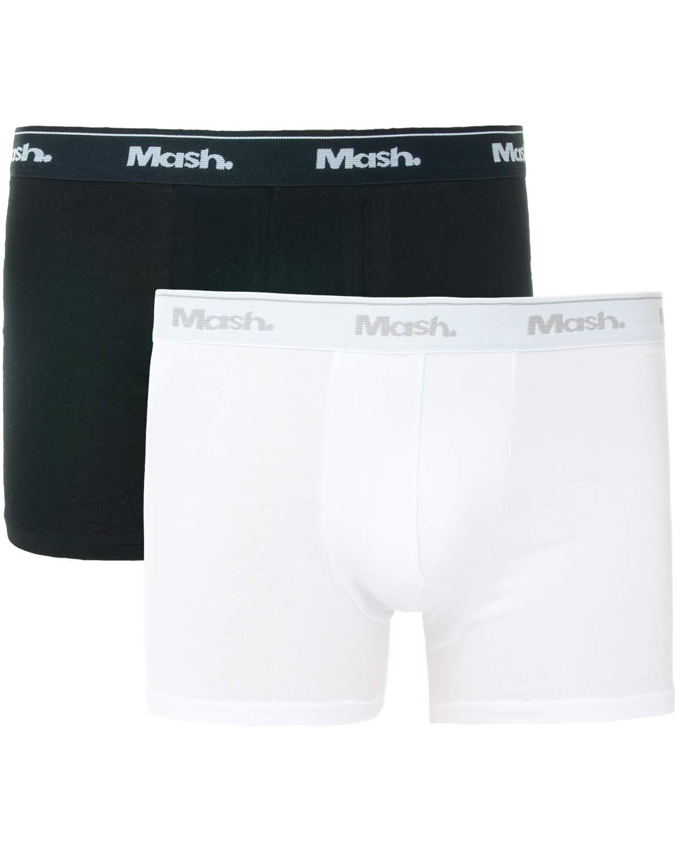 4437cd843 Kit 2 Cuecas Mash Boxer Algodão 2 Cores - Pijama Online