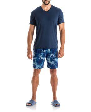 Pijama-Masculino-Daniela-Tombini-Bermuda-Tropical