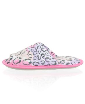 Chinelo-de-Quarto-Lua-Encantada-Animal-Print