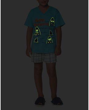 Pijama-Infantil-Masculino-Lua-Encantada-Tubarao