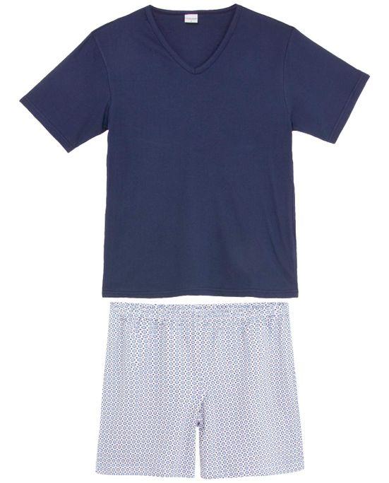 Pijama-Masculino-Lua-Encantada-Algodao-Bermuda