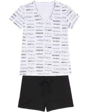 Shortdoll-Calvin-Klein-Algodao-Manga-Curta-Logos