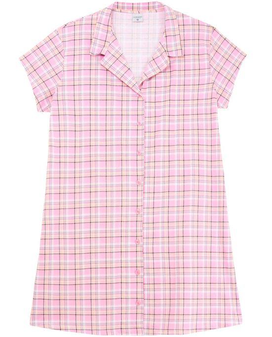Camisao-Plus-Size-Lua-Encantada-Aberta-Xadrez