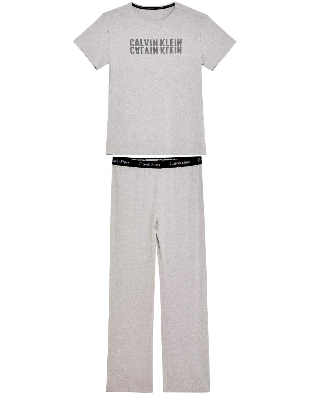117f7d1fda Pijama Masculino Calvin Klein Longo Viscolycra - Pijama Online