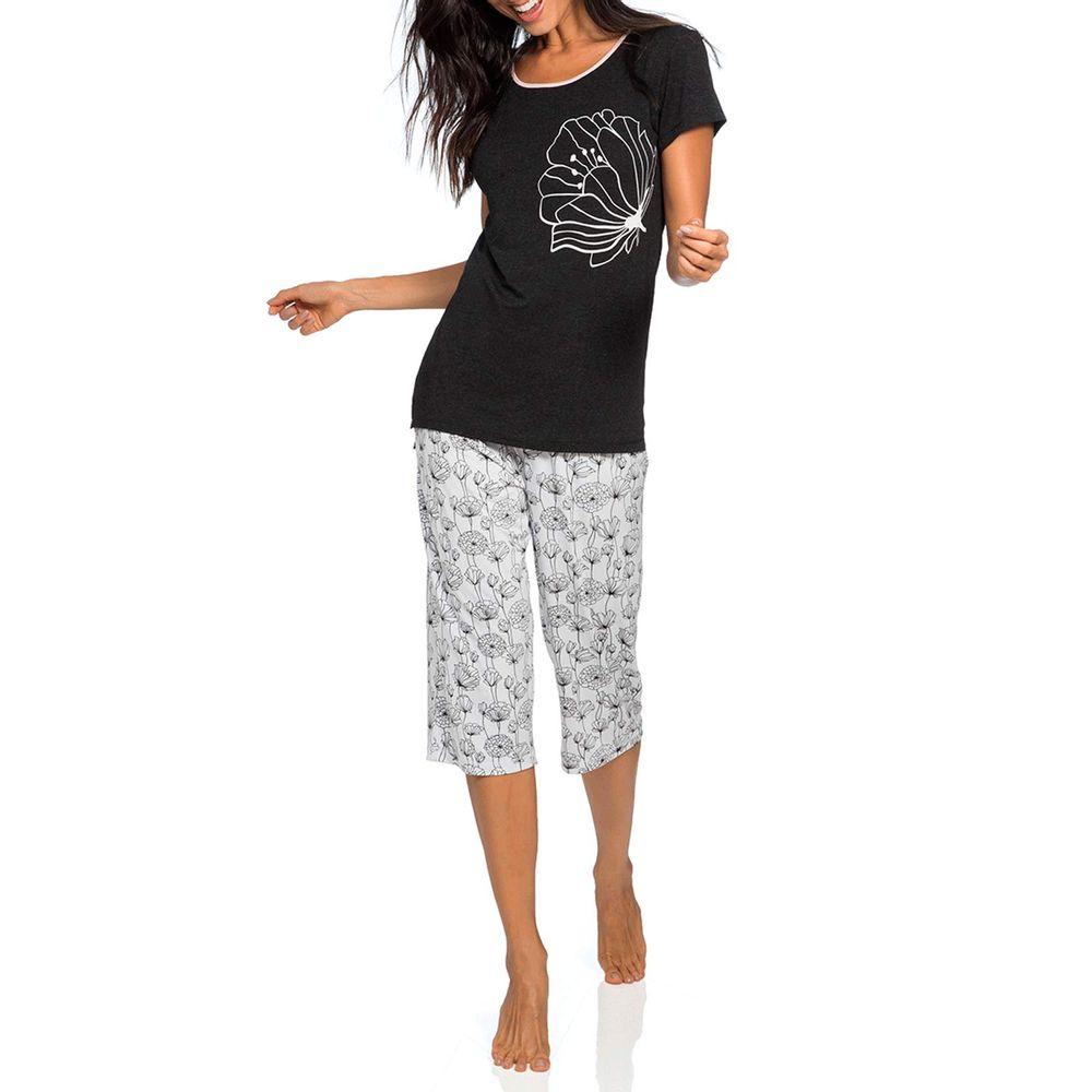 Pijama-Feminino-Joge-Pescador-Viscolycra-Floral