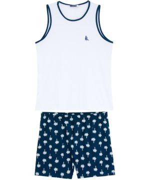 Pijama-Masculino-Lua-Cheia-Regata-Bermuda-Coqueiro