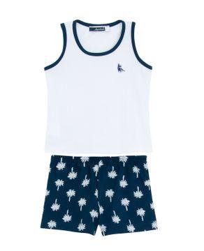 Pijama-Infantil-Masculino-Lua-Cheia-Regata-Coqueiros