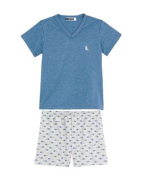 Pijama-Infantil-Masculino-Lua-Cheia-Bermuda-Peixes