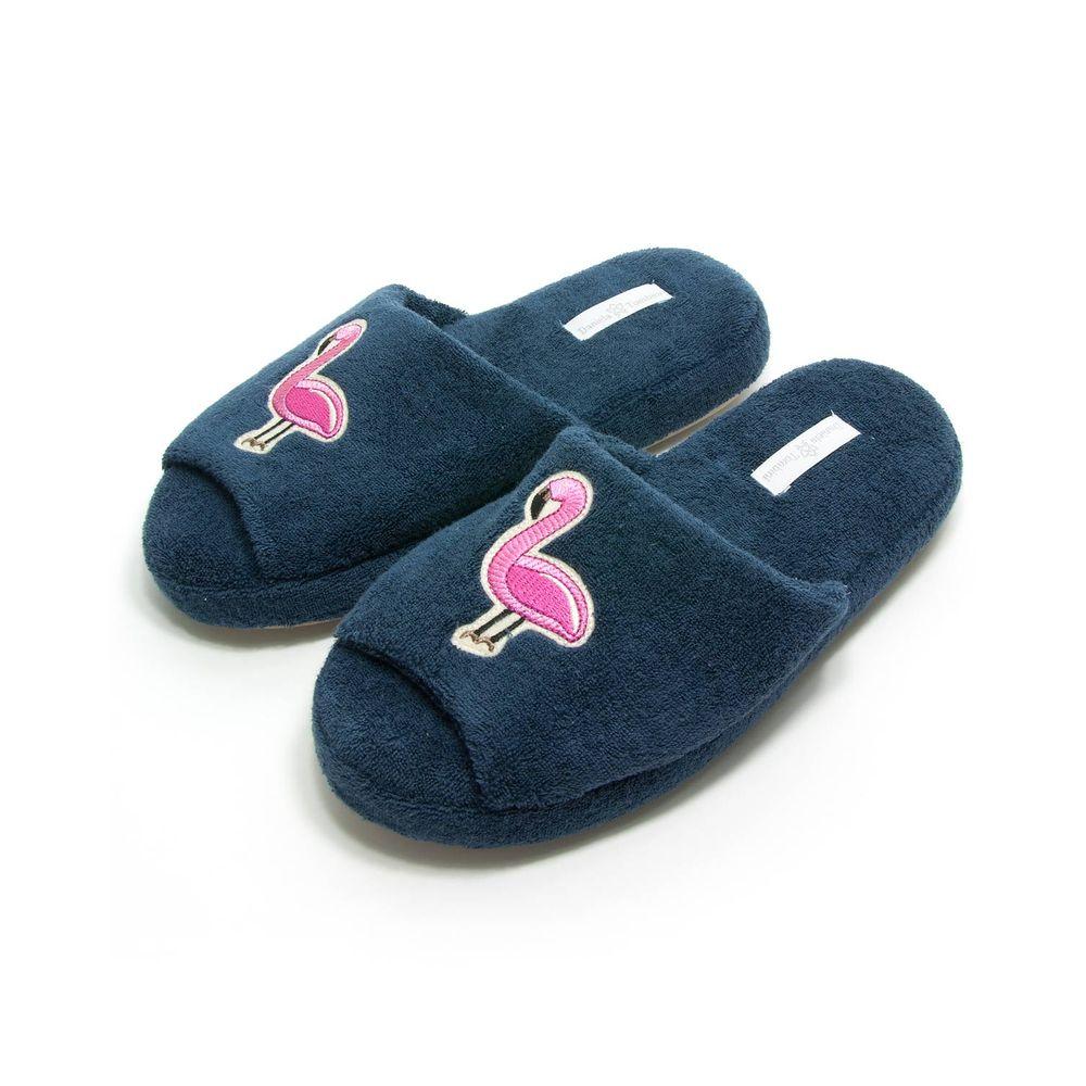 Chinelo-de-Quarto-Feminino-Daniela-Tombini-Flamingo