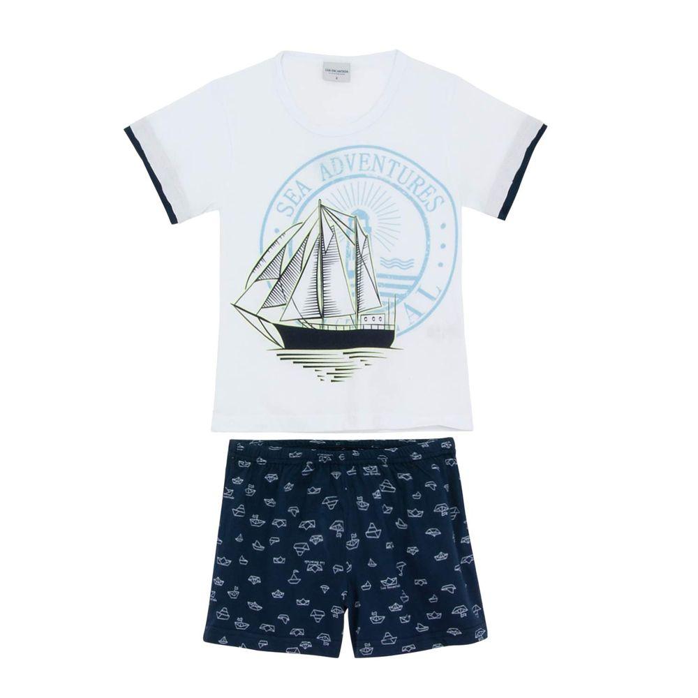 Pijama-Infantil-Masculino-Lua-Encantada-Caravela