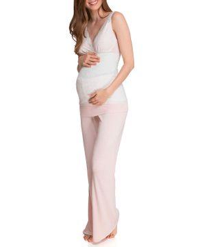 Pijama-Feminino-Joge-Longo-Regata-Renda-Viscose
