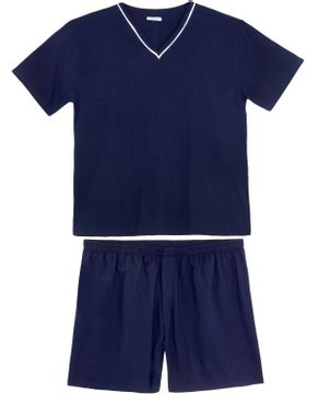 Pijama-Plus-Size-Masculino-Podiun-Bermuda-Algodao