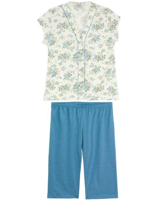 Pijama-Feminino-Lua-Encantada-Pescador-Aberto-Floral